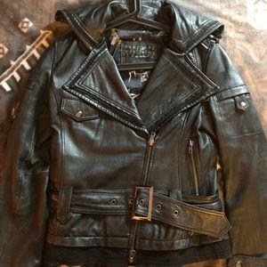 100% Authentic Miss Top Gun Moto Jacket